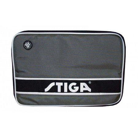 Чехол для ракетки настольного тенниса STIGA SGA-884801 STYLE (PL, серо-черный, р-р 30х21см)