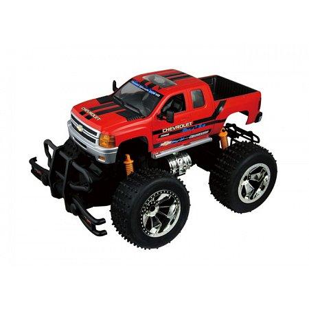 Chevrolet Silverado 2500HD (красный), радиоуправляемая модель, м 1:18, Race-Tin. Auldey (LC226020-2)