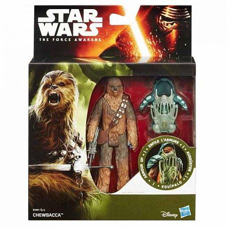 Чубакка (Chewbacca) - фигурка Звездные войны: Пробуждение силы, 9,5 см, Star Wars, Hasbro, Чубакка (Chewbacca), B3886-3