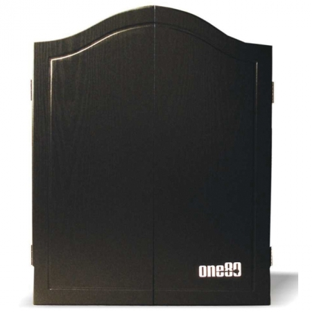 Дартс кабинет (без мишени) One80 MDF Cabinet Black