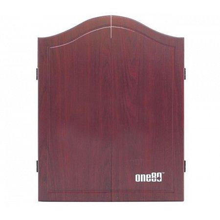 Дартс кабинет (без мишени) One80 MDF Cabinet Rosewood
