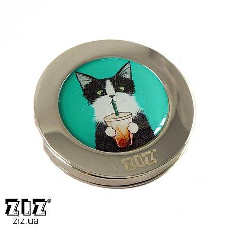 Держатель для сумки Кот со стаканом, ZIZ-28030