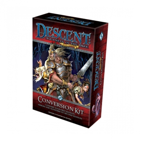 Descent: Journeys in the Dark 2nd Edition Conversion Kit - Настольная игра
