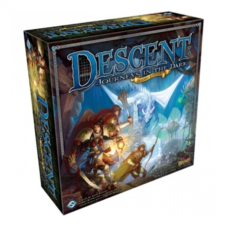 Descent: Journeys in the Dark (2nd Edition) - Настольная игра