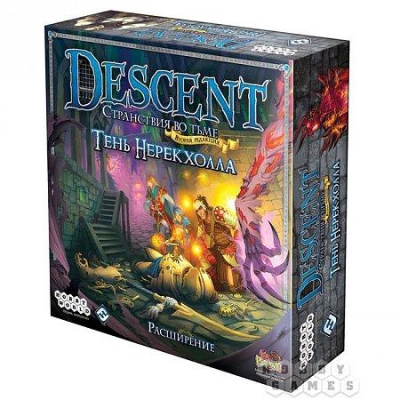 Descent. Тень Нерекхолла - Дополнение к игре (1262)