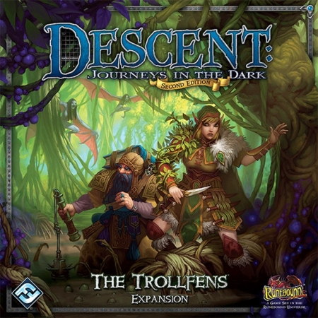 Descent: The Trollfens Expansion - Настольная игра