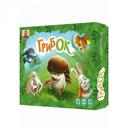Детская настольная игра ГрибОк для развития устного счета