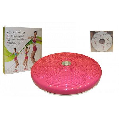 Диск здоровья массажный d-40см PS K70-4 (пластик, +DVD, толщина-4,5см)