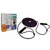 Диск здоровья с эспандерами массажный d-25см PS FI-708 TWISTER (пластик, неопрен, толщина-2,3см)
