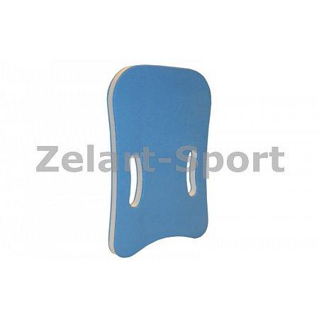Досточка для плавания EVA PL-4400 (EVA, р-р 42x27,5x3см, голубая)