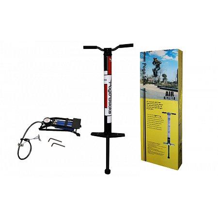 Джампер Пого стик Air (Jumper Pogo stick) пневматический C-3529 (алюм, l-0,92м, вес польз. до 110кг)