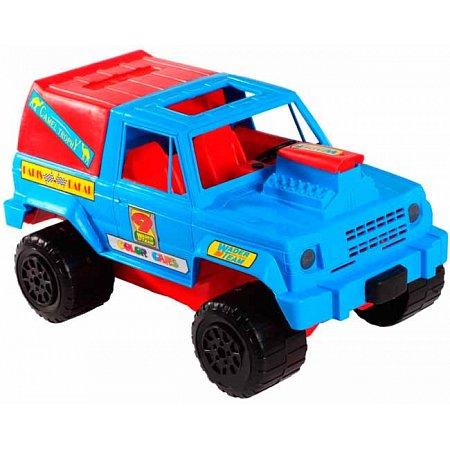 Джип - машинка, сине-красный, Wader, сине-красный, 39008-2