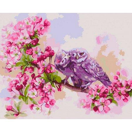 Единение сердец, серия Животные, рисование по номерам, 40 x 50 см, Идейка, KH2487