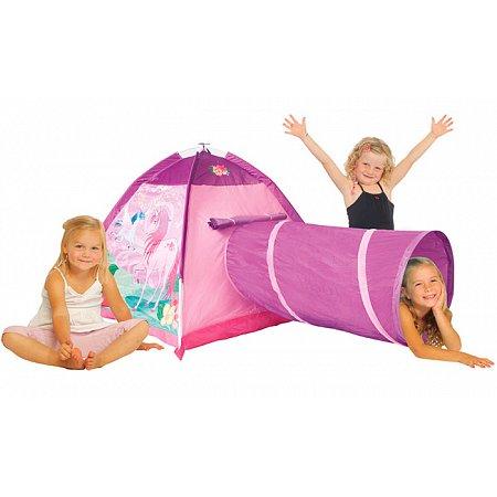 Единорог, игровая палатка с туннелем, Five stars, 427-15