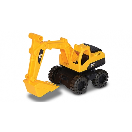 Экскаватор CAT. Мини-строительная техника 25 см. Toy-State, 82025