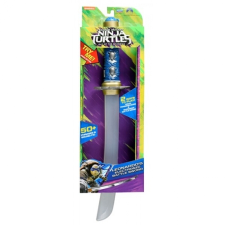 Электронный меч Леонардо (свет, звук), TMNT Movie 2, 88876