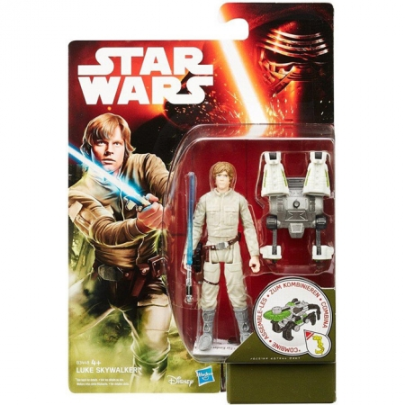 Фигурка Luke Skywalker 9,5 см, Star Wars, Hasbro, Luke Skywalker, B3445EU4-1-2