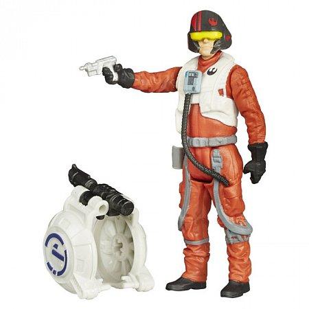 Фигурка Poe Dameron 9,5 см, Star Wars, Hasbro, Poe Dameron, B3445EU4-1-3