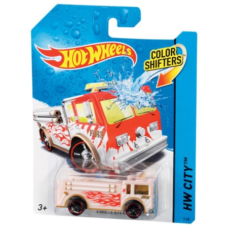 Fire-Eater, Машинка Измени цвет, Hot Wheels, Mattel, Fire Eater, BHR15-12