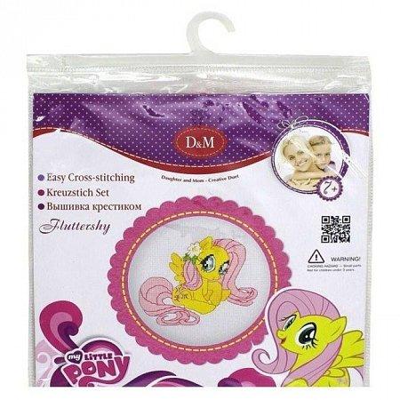 Флаттершай My Little Pony - набор для вышивания крестиком, D&M Делай с мамой, 57928