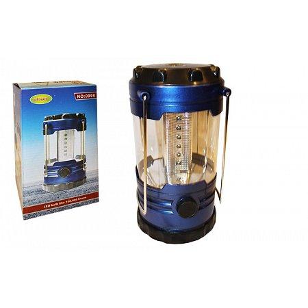 Фонарь кемпинговый светодиодный переносной TY-0999 (18 ламп, компас, на бат. (3 C), р-р 20х10,5см)