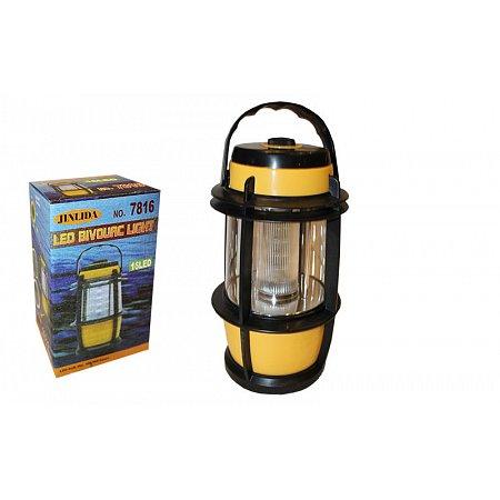 Фонарь кемпинговый светодиодный переносной TY-7816 (16 ламп, на бат. (3 AA), р-р 17х7,5см)