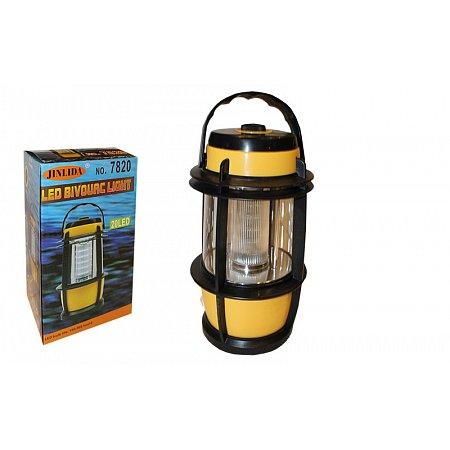 Фонарь кемпинговый светодиодный переносной TY-7820 (20 ламп, на бат. (2 C), р-р 25х12см)