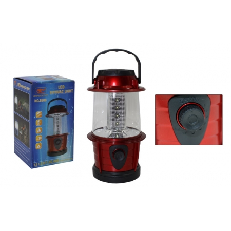 Фонарь кемпинговый светодиодный переносной TY-8806 (12 led ламп, на бат. (3 AA), р-р 17,5х8,5см)
