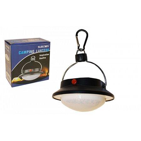 Фонарь кемпинговый светодиодный подвесной ZT-8501-36 (36 ламп, на батарейках (3 AAA), d-11cм)