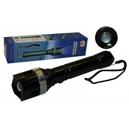 Фонарик ручной светодиодный BL-880-2 (пластик, 1 Cree Led лампа, zoom , на батарейках(2 AA)