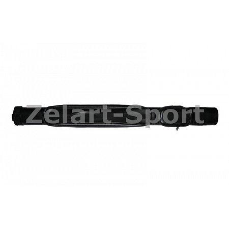 Футляр для кия-тубус KS-390 (р-р 81x7x5см, PVC, полиэстер, черный)
