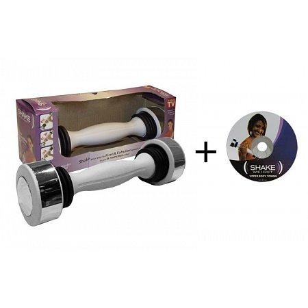 Гантель для фитнеса SHAKE (1 x 2,5LB) 4462 (1шт, металл, пластик, Tone Exercise System)