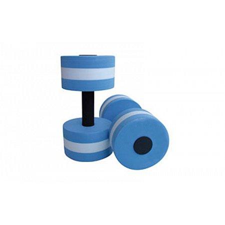 Гантели для аквааэробики круглые 2шт PL-3351 (EVA, р-р l-27см, d-14см)