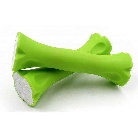 Гантели для фитнеса в ABS оболочке (2 x 0,7кг) FI-4933-LG(0,7) (2шт, ABS покрытие, салатовый)