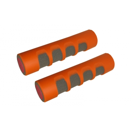 Гантели для фитнеса в неопреновой оболочке (2 x 0,5кг) FI-3210-1 (2шт, оранжевый)