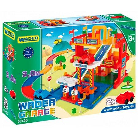 Гараж с дорогой 3 уровня, Wader, 50400
