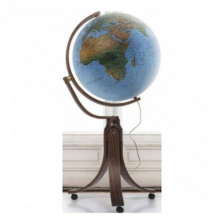 Глобус напольный с подсветкой Эмили, 50 см (физический/политический), Tecnodidattica 5133