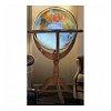 Глобус напольный с подсветкой Jannine Blue, 50 см (физический/политический), Tecnodidattica 5132