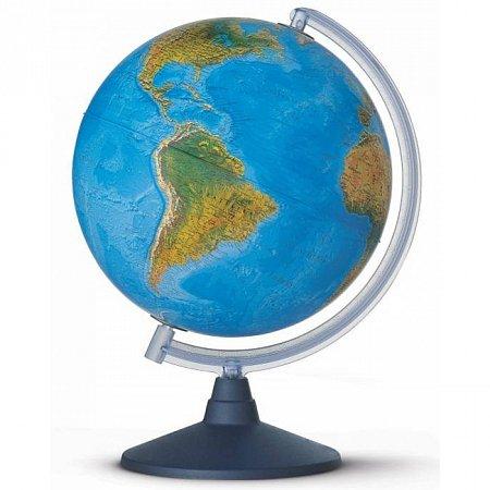 Глобус рельефный с подсветкой Альто, 30 см (Рус. язык, физический/политический), Tecnodidattica 5130