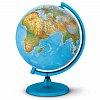 Глобус с подсветкой Орион, 25 см (Укр. язык, физический/политический), Tecnodidattica 5113