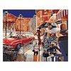 Городской гламур, серия Городской пейзаж, рисование по номерам, 40 х 50 см, Идейка, Городской гламур (KH2121)