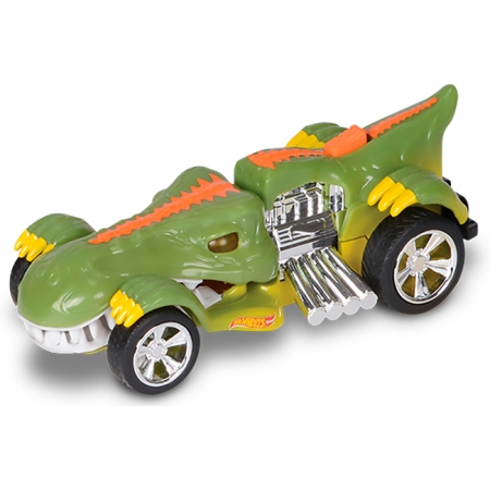 Хищник-мобиль Rextroyer 13 см (свет, звук), Hot Wheels, Toy State, 90572