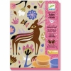 Художественный комплект Djeco рисование цветным песком Чудеса леса, DJ08662