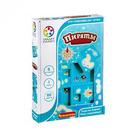 Игра головоломка Пірати Юніор. Ховай та шукай Smart Games (SG 432 UKR)