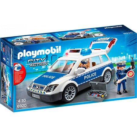 Игровой набор Полицейская машина (свет, звук), Playmobil, 6920