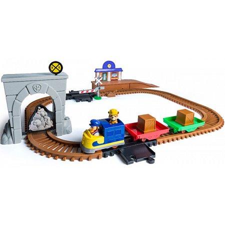 Игровой набор с моторизированным паровозиком Приключения на железной дороге, PAW Patrol, SM16695
