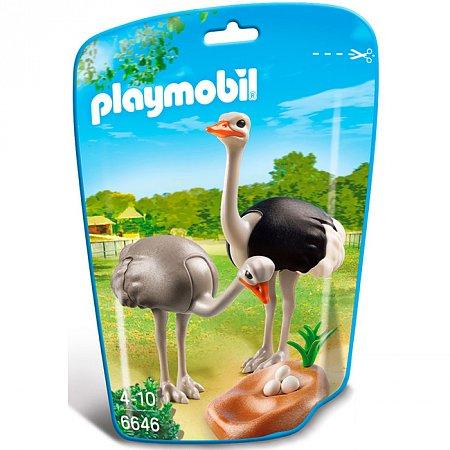 Игровой набор Страусы с гнездом, Playmobil, 6646