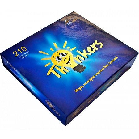 Интеллектуальная игра Thinkers - от 12 лет, 210 заданий (на английском)