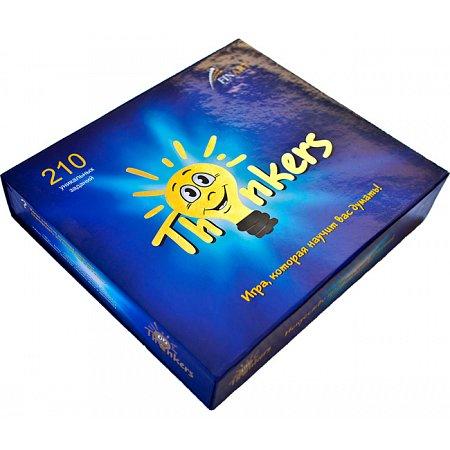 Интеллектуальная игра Thinkers - от 12 лет, 210 заданий (на украинском)