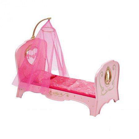 Интерактивная кроватка для куклы BABY BORN - СЛАДКИЕ СНЫ ПРИНЦЕССЫ (свет, звук), Zapf 819562 Zapf